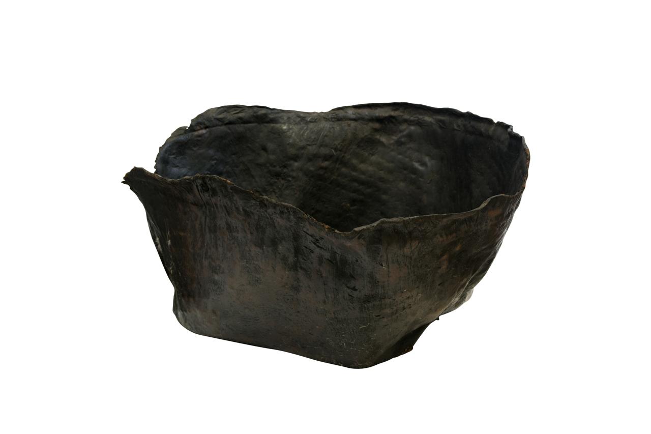 Paila de cuero envejecido-58 Cm