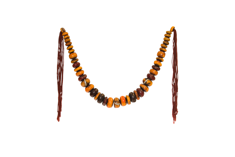 Collar decorativo semillas de Ámbar