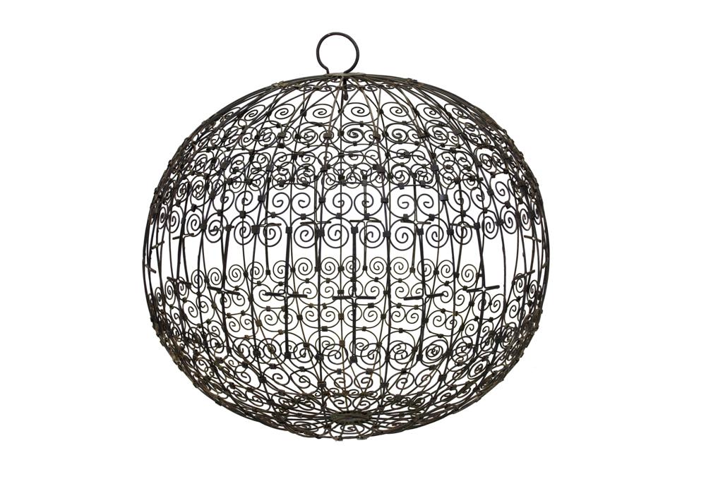 Jaula Marroquí redonda en hierro