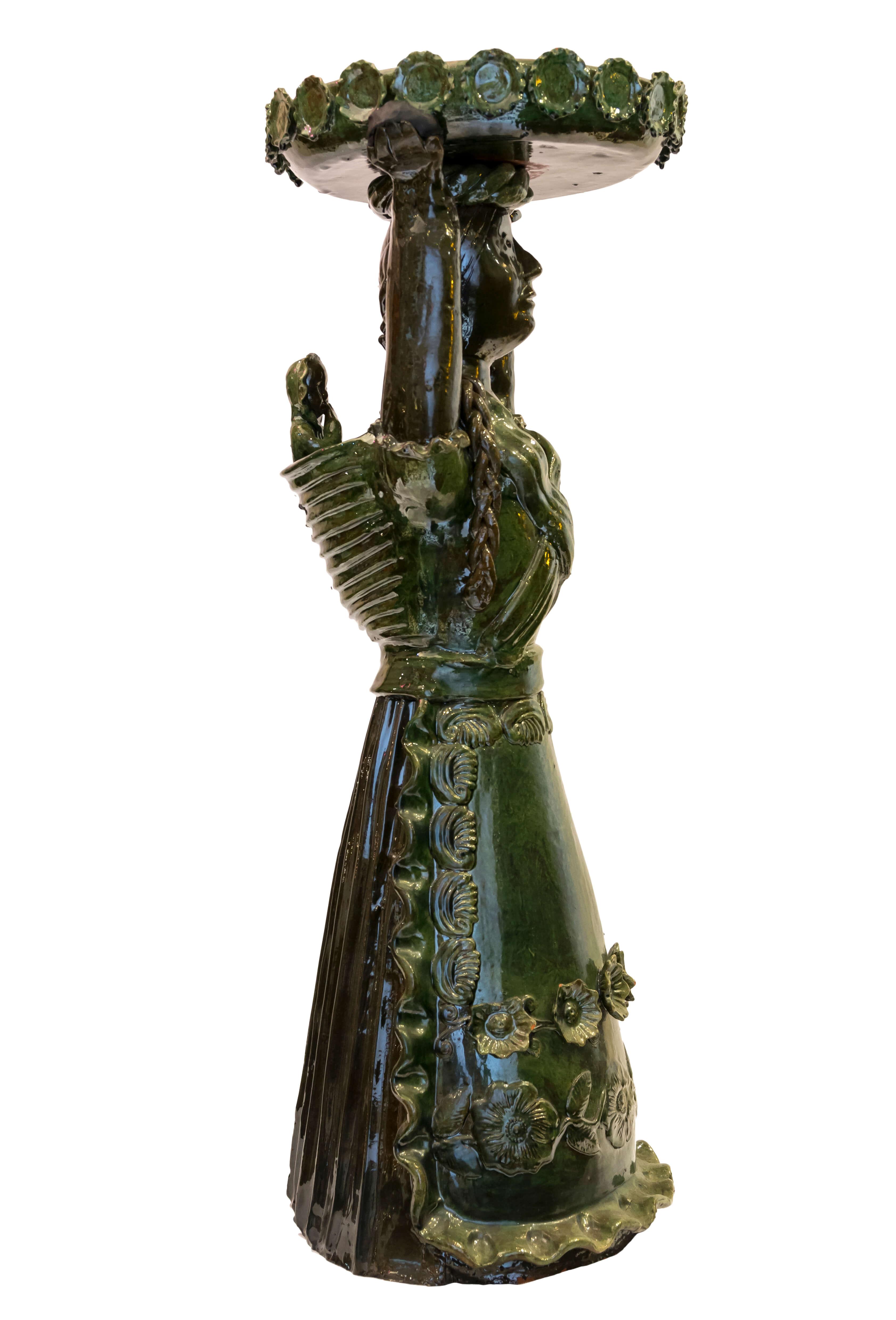 Muñeca decorativa Mexicana en cerámica