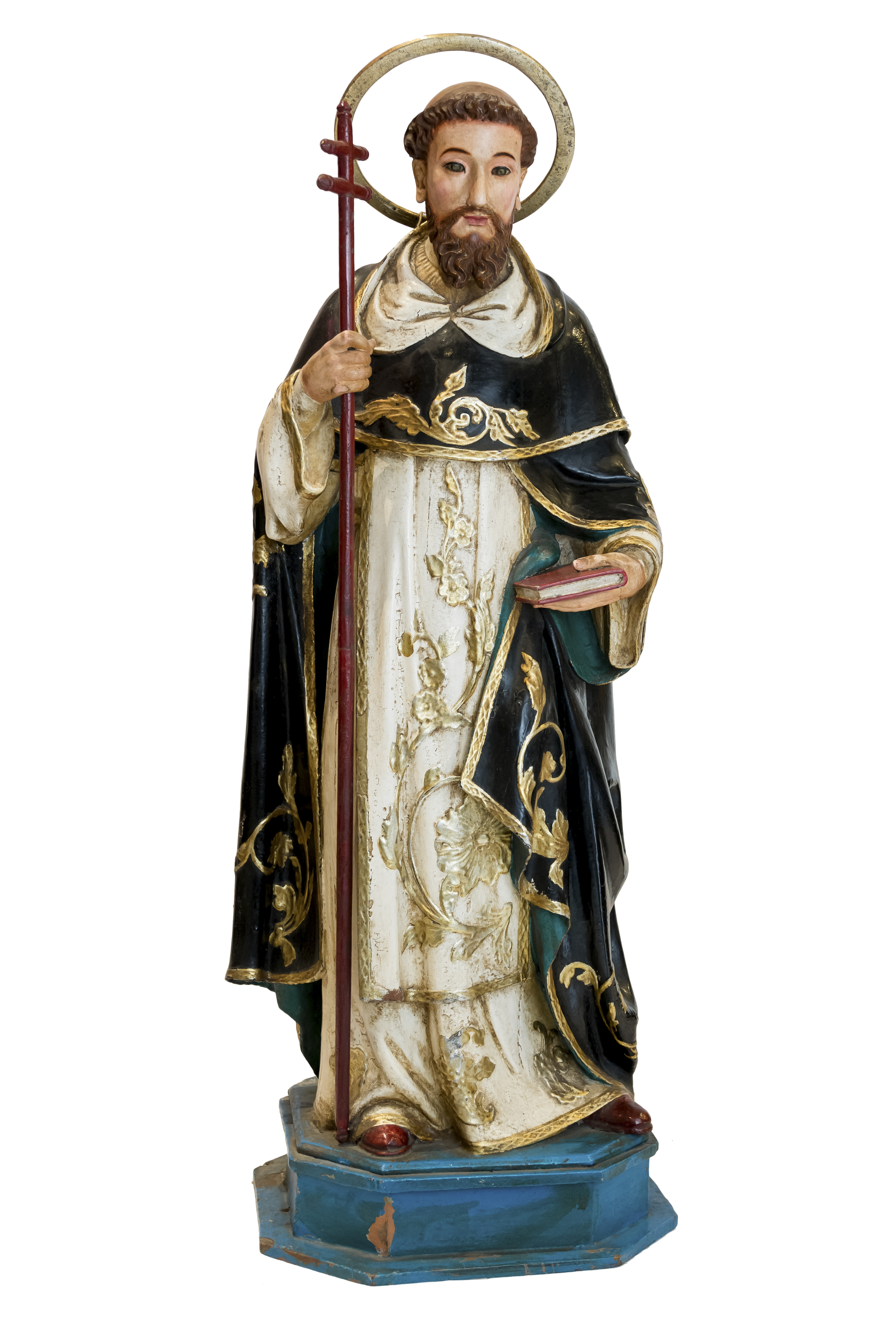Escultura religiosa en madera Santo Domingo