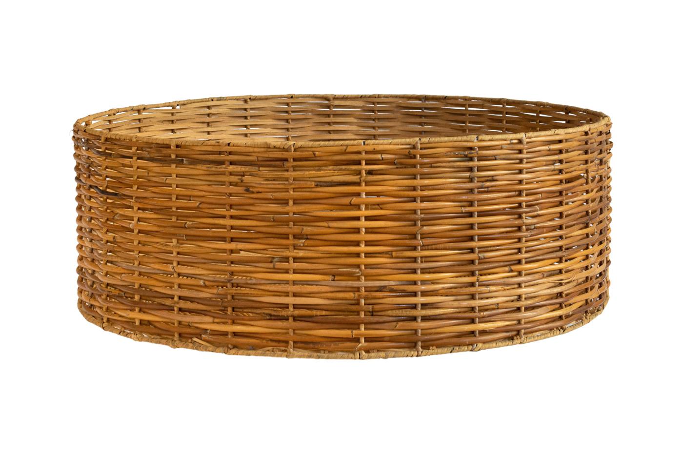 Rattan basket extra large