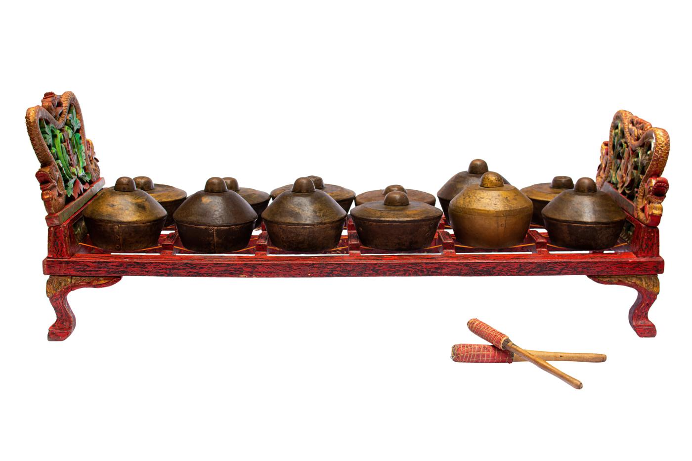 Instrumento musical tradicional de Indonesia ( Bonag)