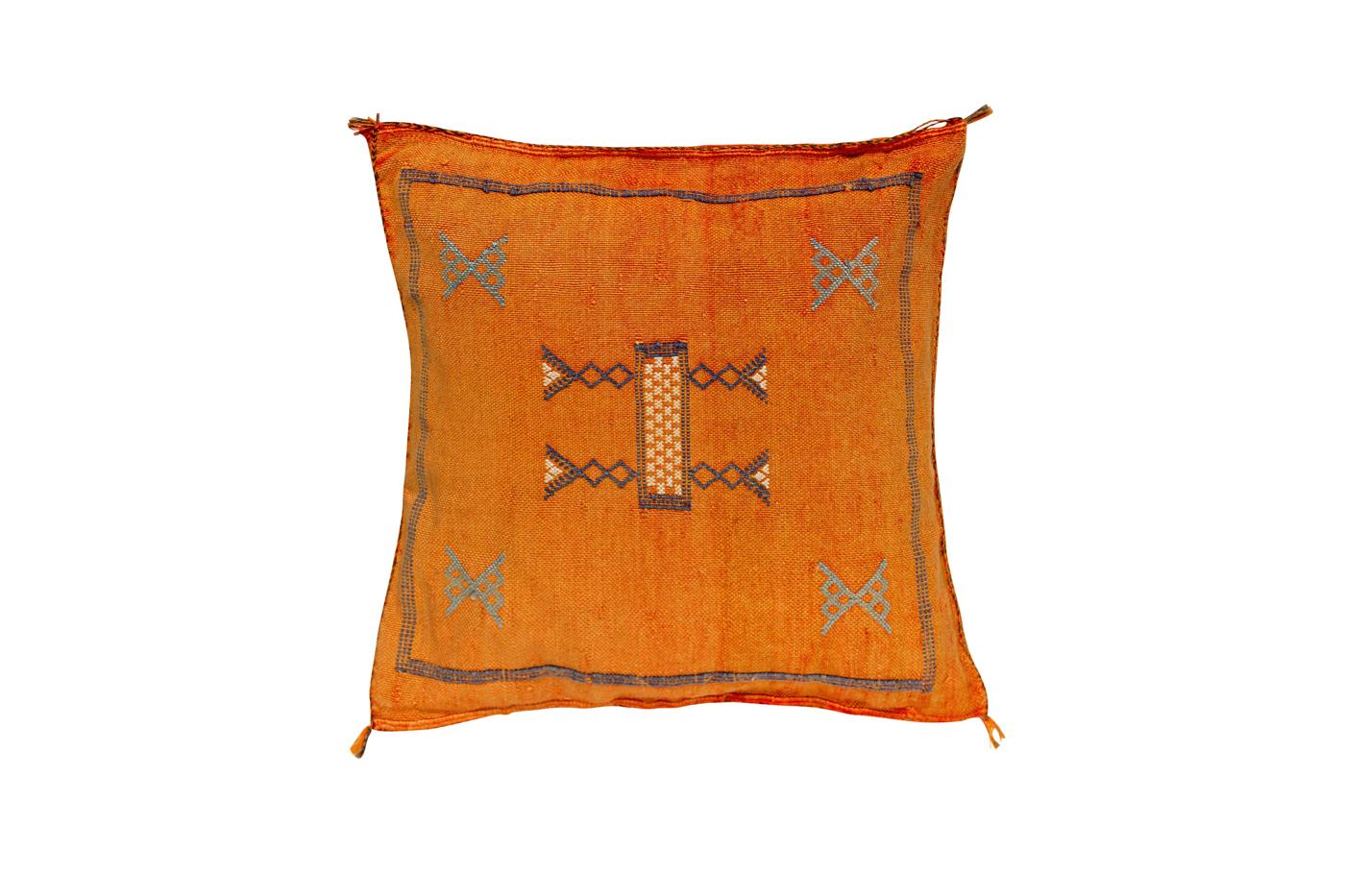 Cojín sabra Marroquí-naranja