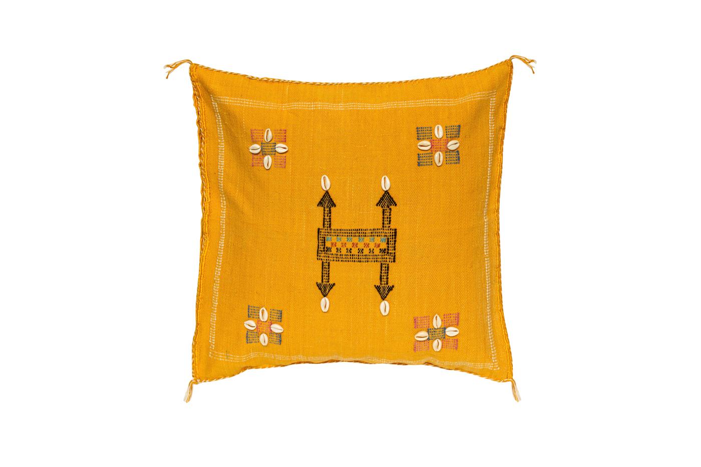 Cojín sabra Marroquí-amarillo