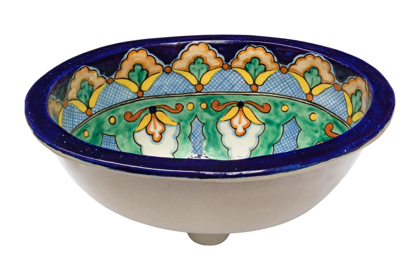 Lavamanos en cerámica Talavera