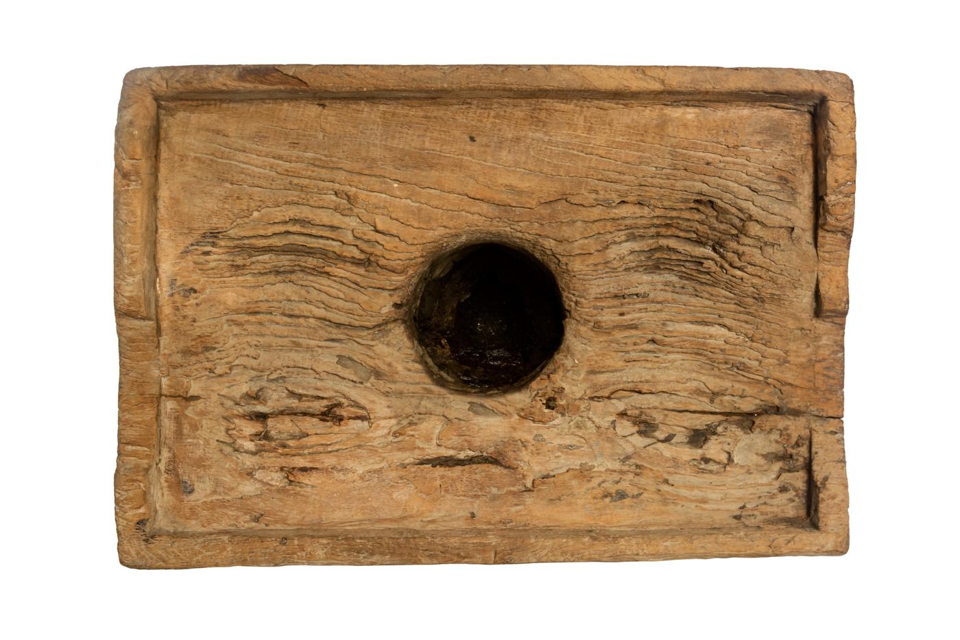 Lesung decorativo en madera