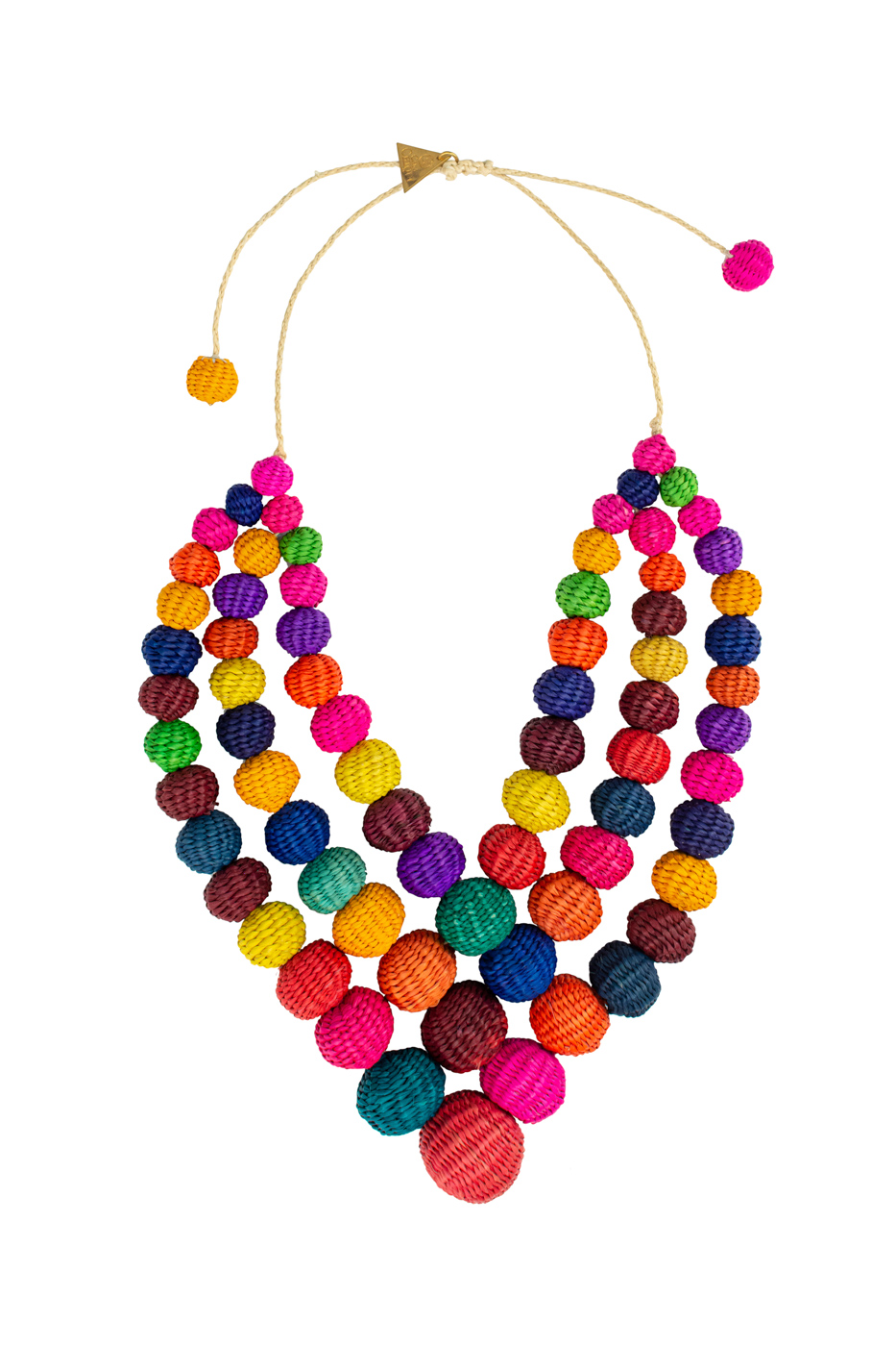 Collar rombo multicolor