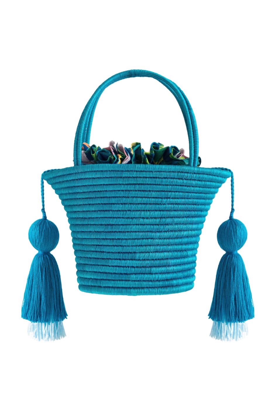 Bolsito Guacamayas- Azul turquesa