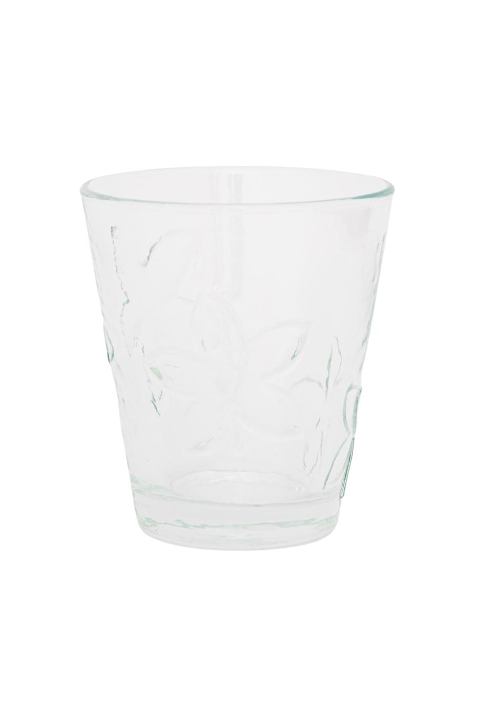 Vaso en vidrio