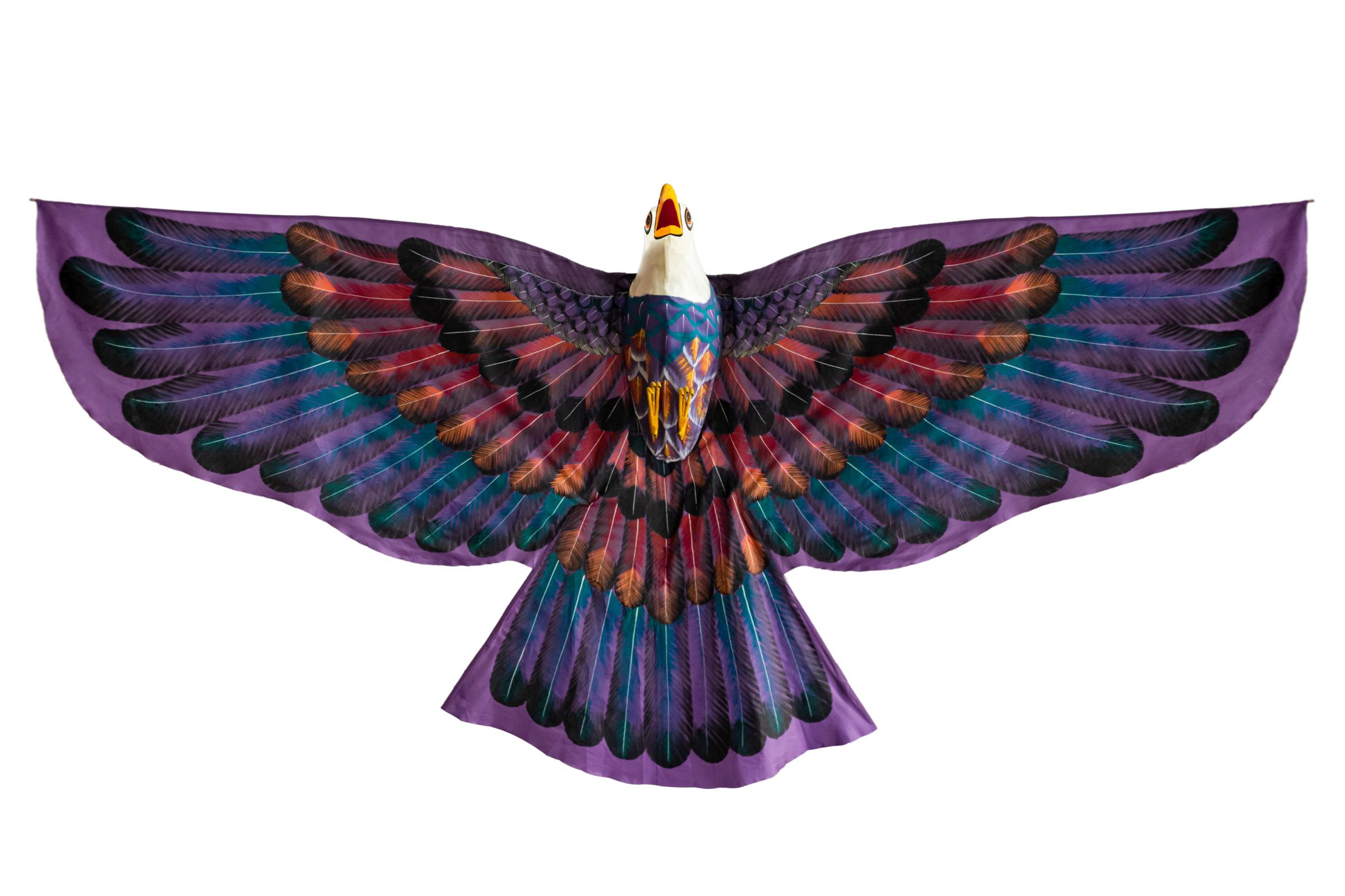 Cometa decorativa diseño águila
