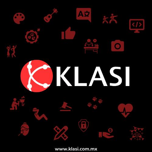Todas las categorías de servicio disponibles en Klasi