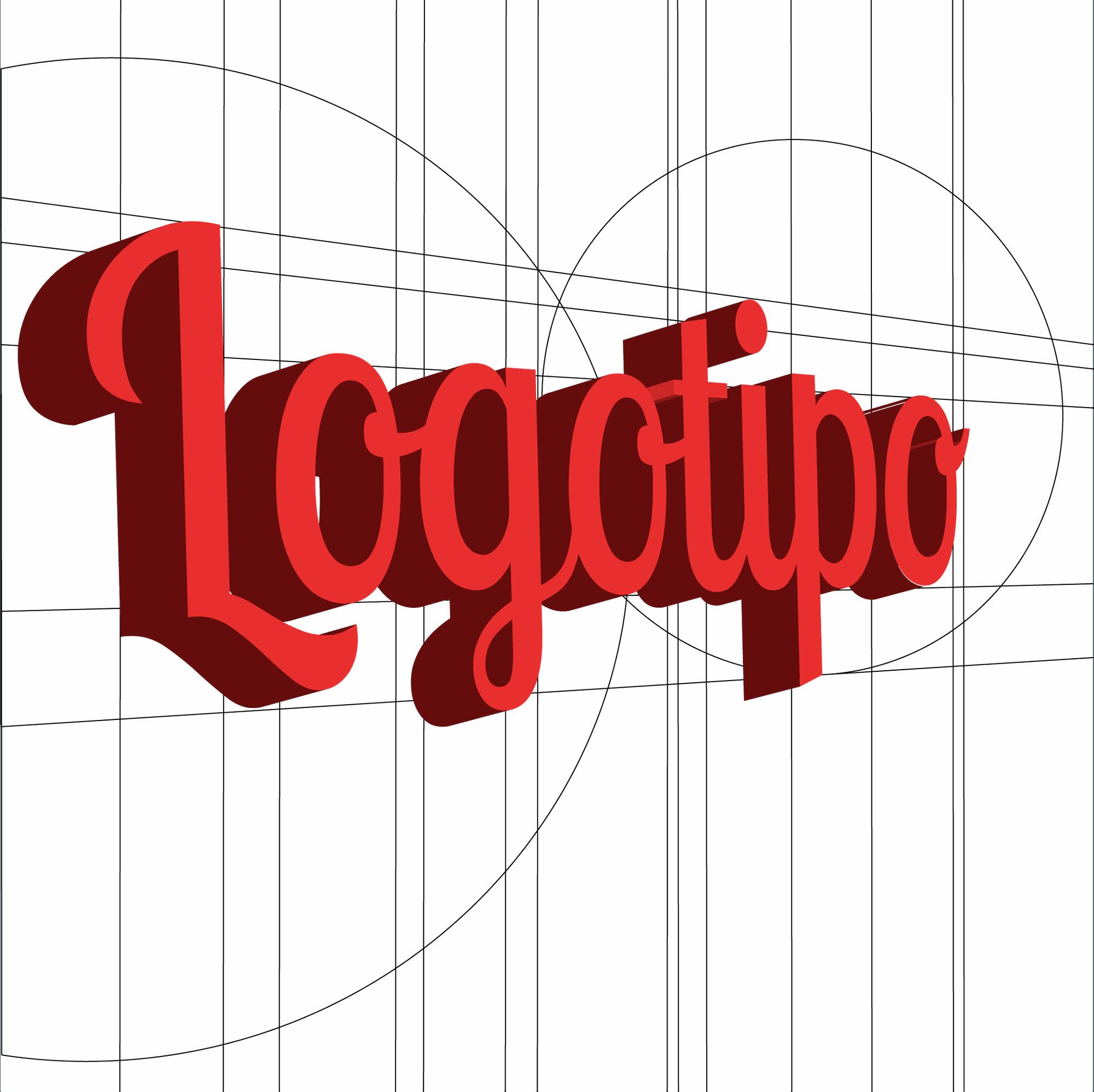 Elaboración de un logotipo con sus vectores de fondo