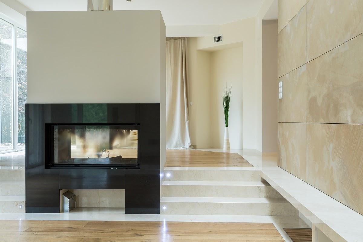 quartz fireplace surround