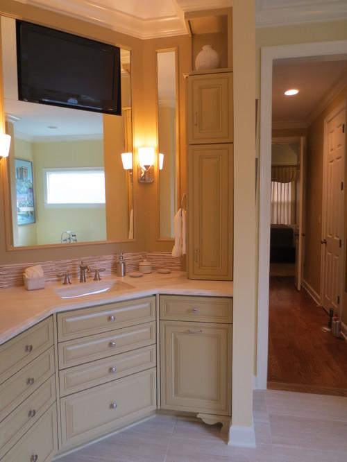 Transitional Bathroom Remodel in Tipton, TN