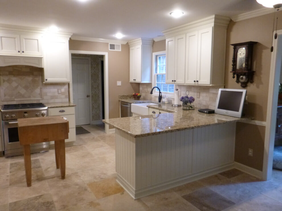 Beige Marble Countertop Project in Tate, MS