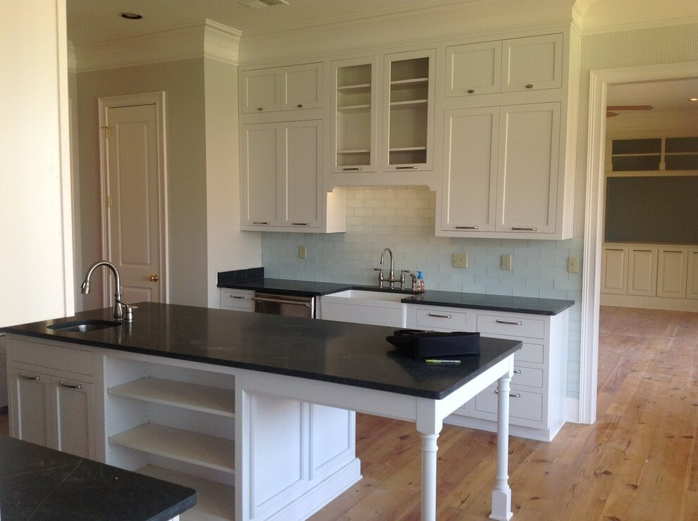 Charcoal Soapstone Quartz countertop project in Shelby, TN