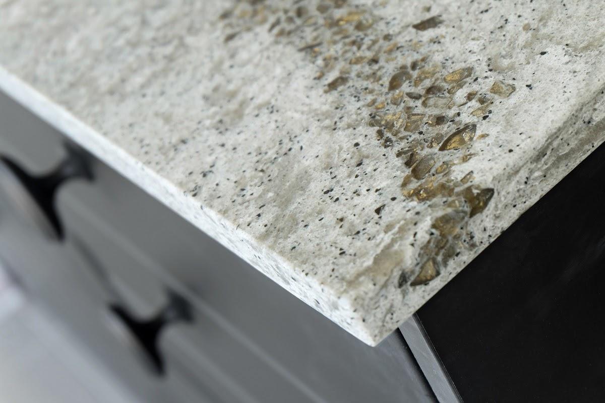 granite countertop neutral color slab
