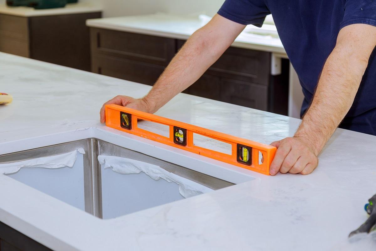 Install an Undermount Sink Measurement