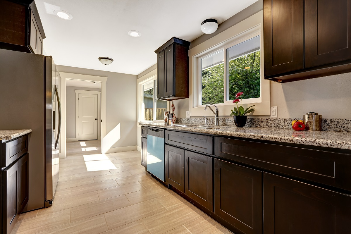 Top Kitchen Cabinets Colors Coffee