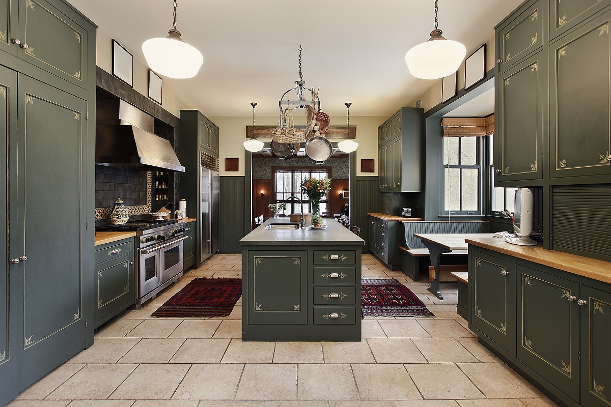 Jade Best Colors for Kitchen Cabinets