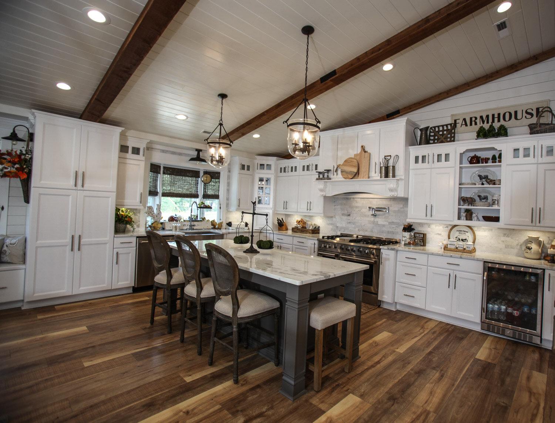Lenoir maple kitchen project