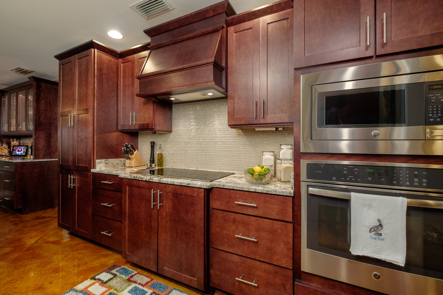 Expresso maple kitchen project
