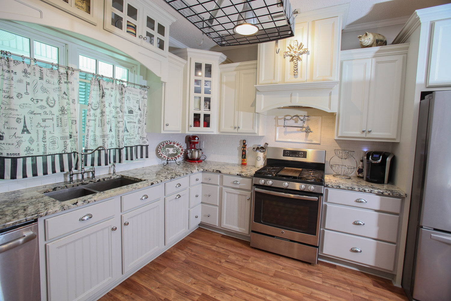 Brighton & Oxford maple ivory cabinets project