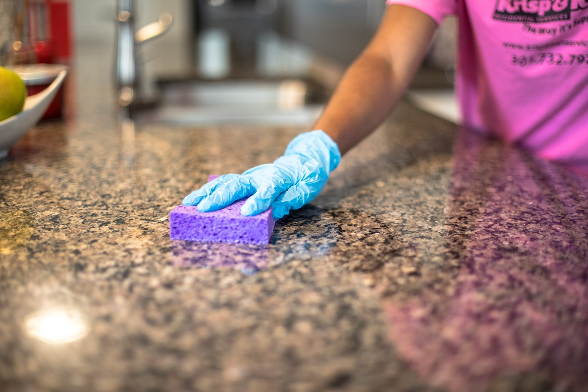 Removing Stains on Granite Countertop