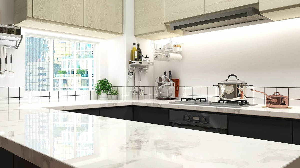 How to Remove Stain from Marble Countertops