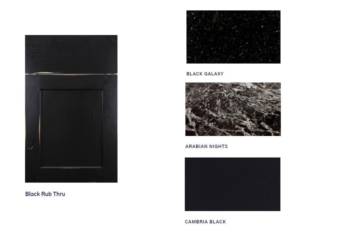 Black Vanity Colors