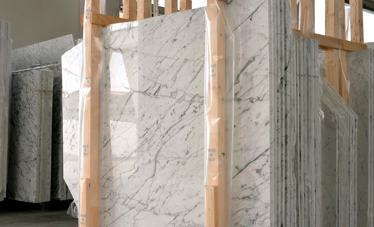 Production Process Honed vs Polished Marble