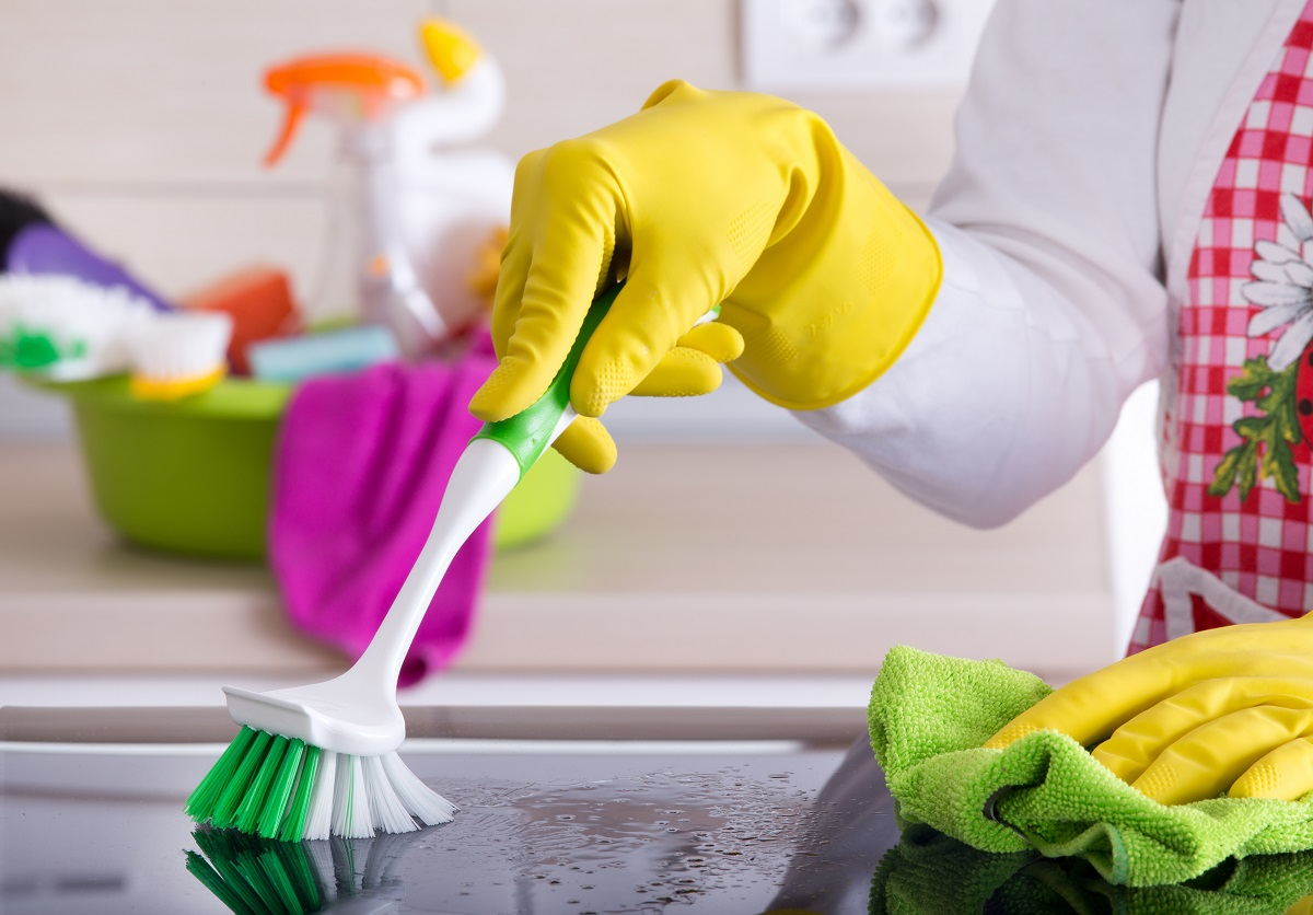 Use The Right Cleaning Tools for Granite Countetops