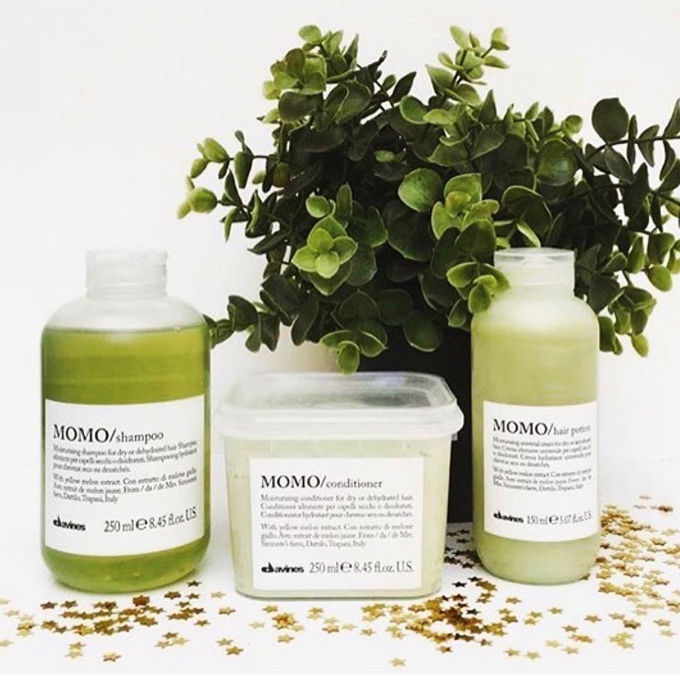 Davines Moisturizing Shampoo and Conditioner