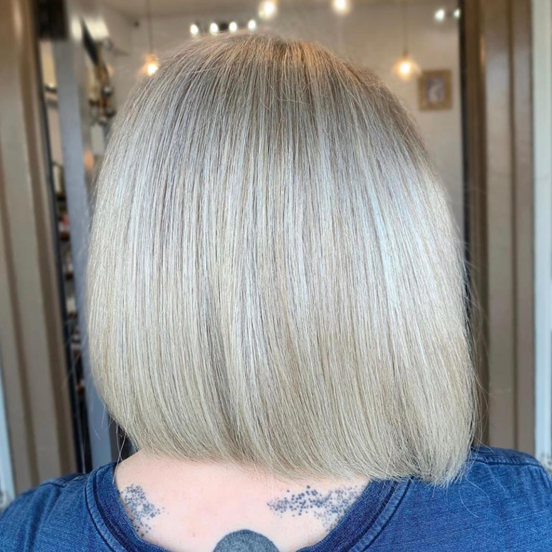 5 hours and a complete transformation from brown to blonde, by Andrew Smith