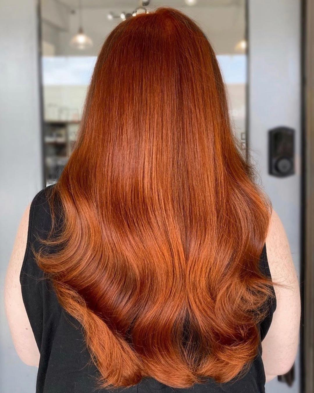 Copper refresh. Hair by Christina Arutyunyan.