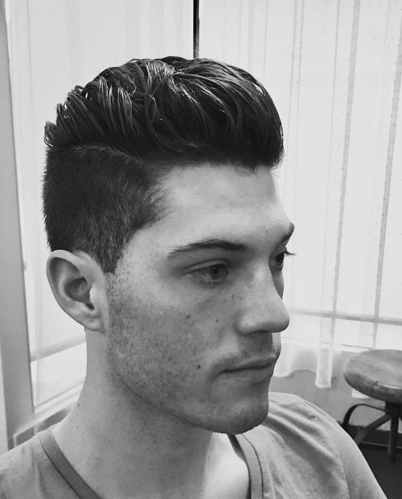 mens hair style and styling