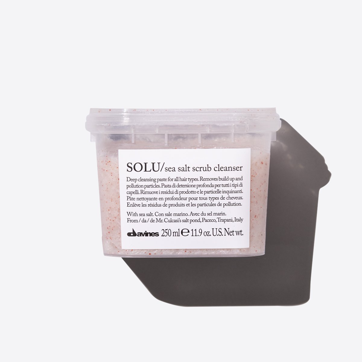 ESSENTIAL HAIRCARE SOLU Sea Salt Scrub Cleanser  250ml