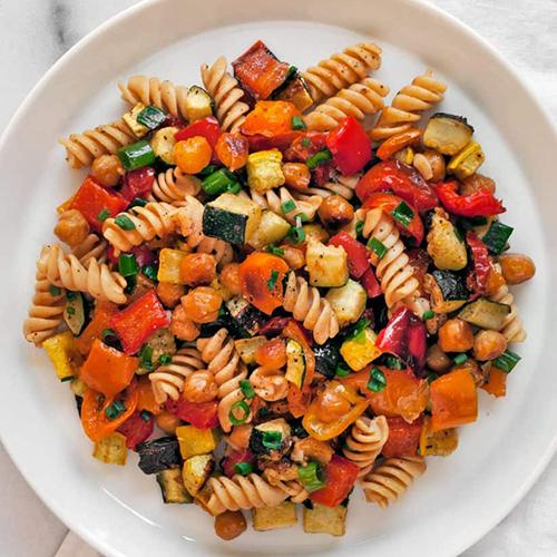 Vegetarian Pasta for 2