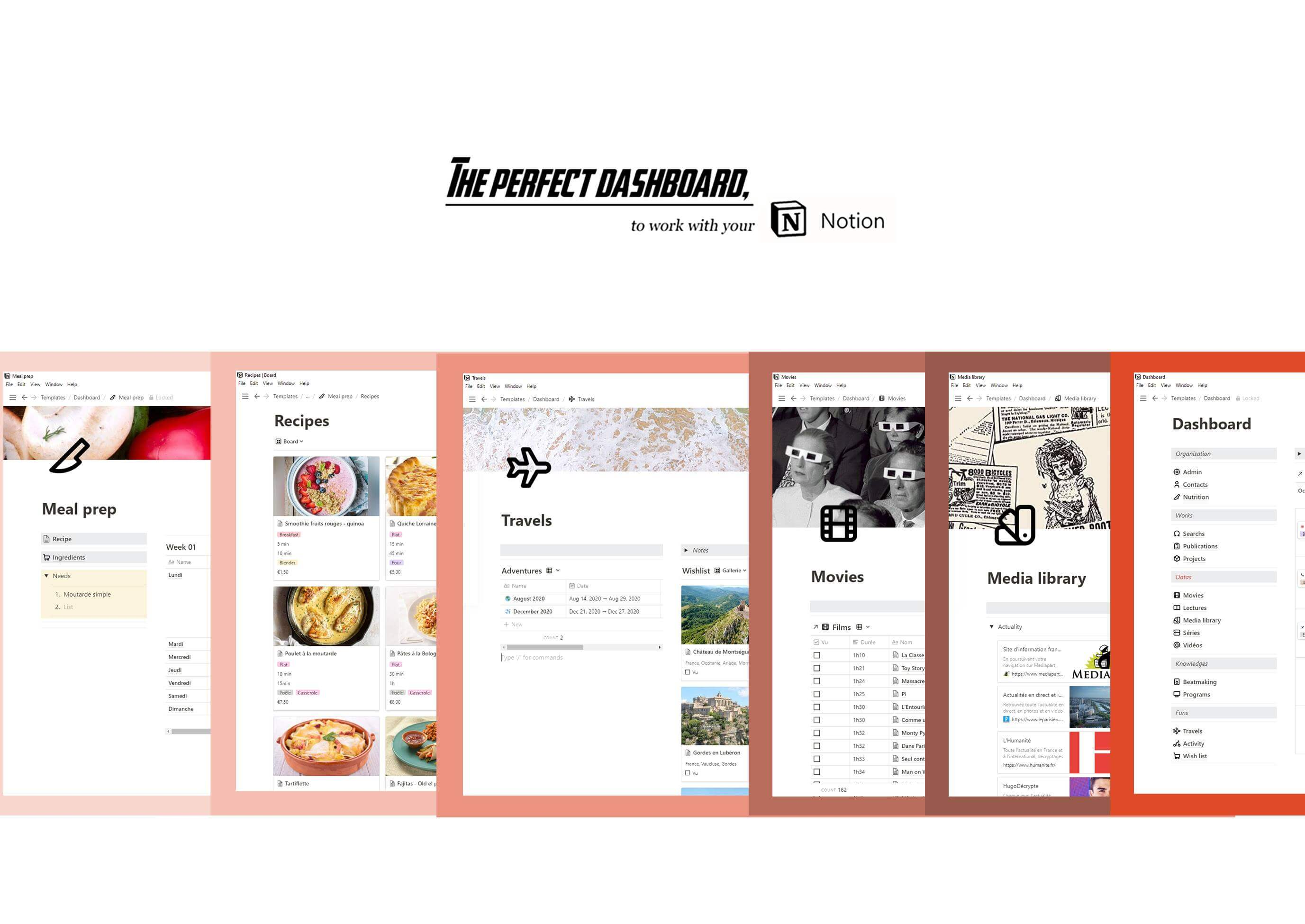 Browse all our Notion template