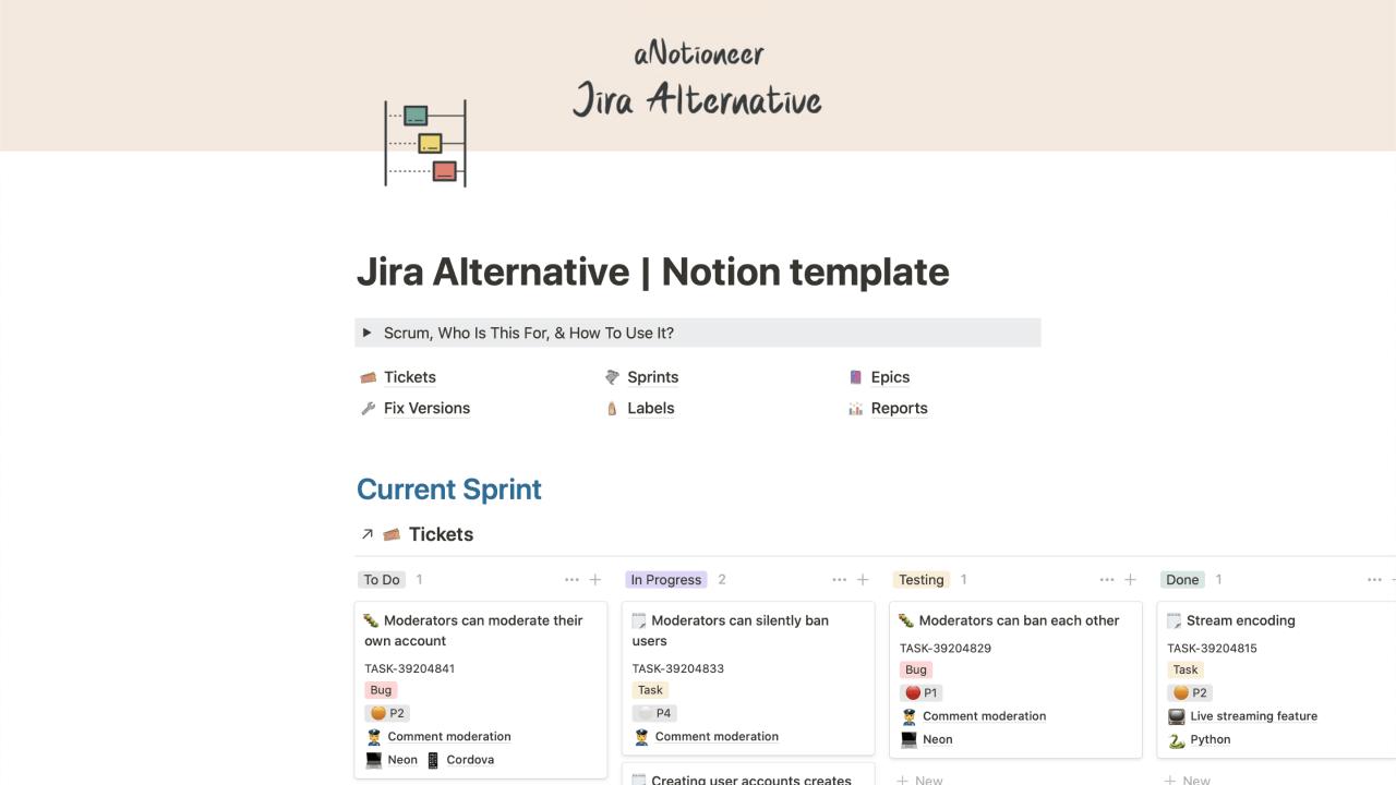 Jira Alternative