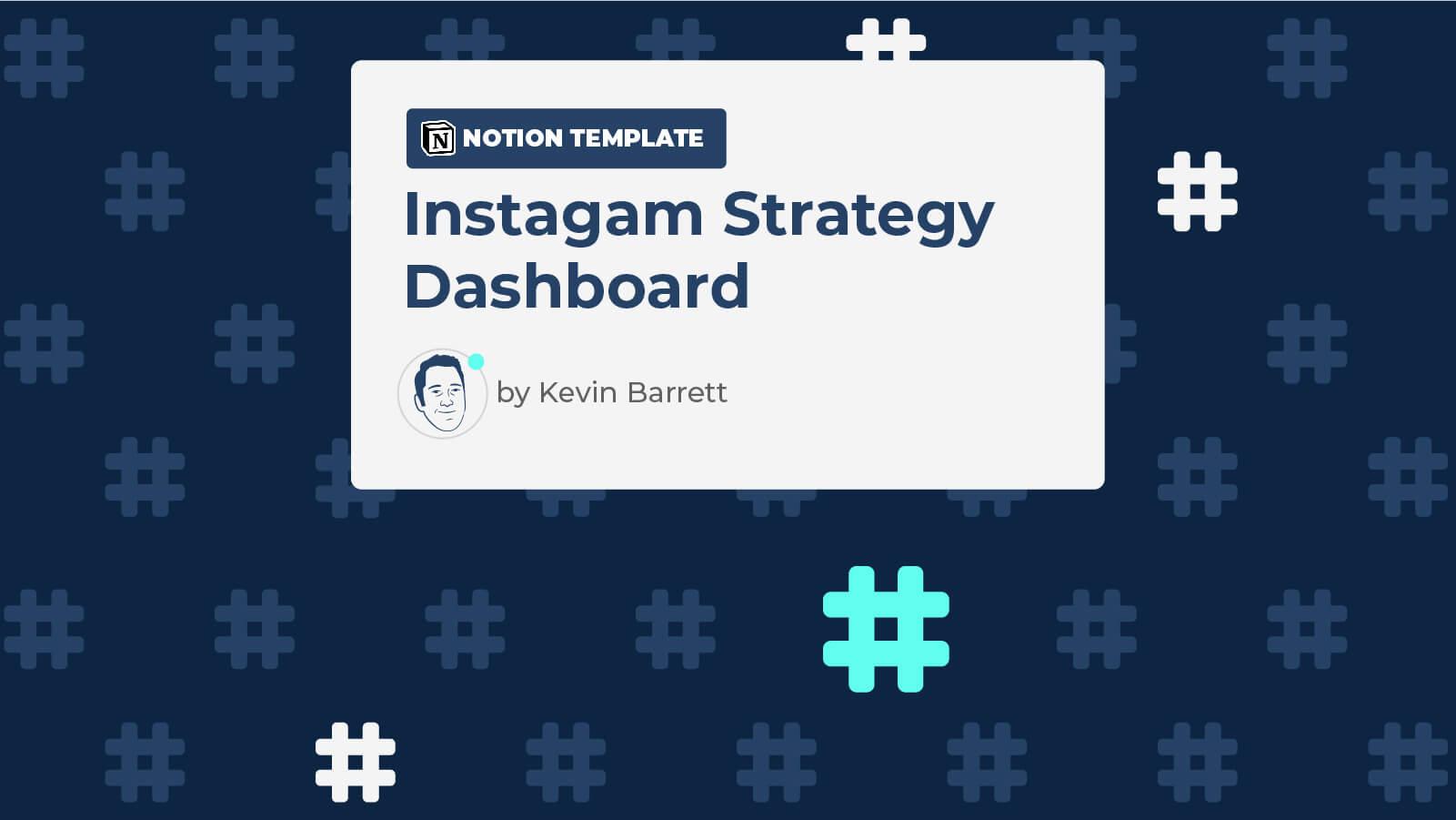 Instagram Strategy Dashboard