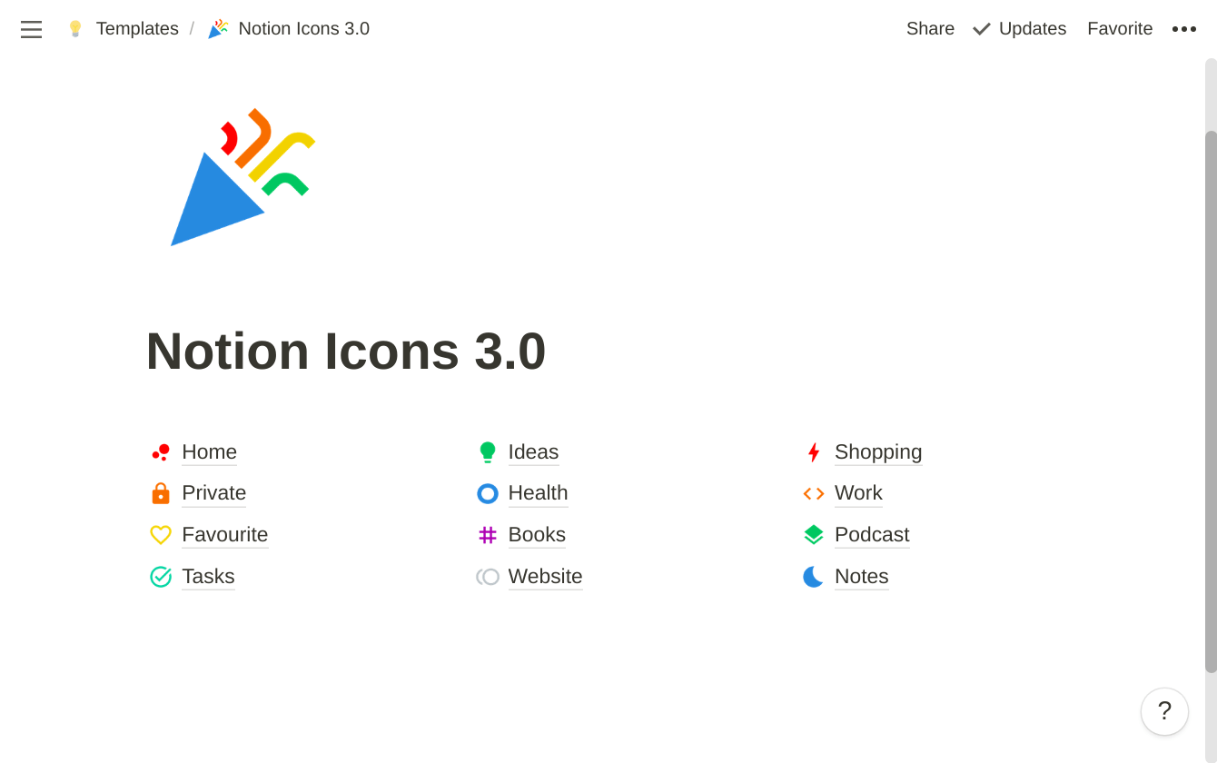 Notion Icons 4.0