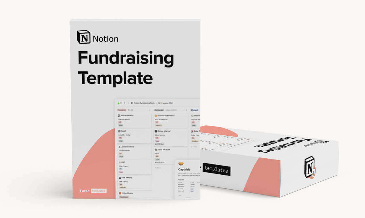Notion Fundraising Template