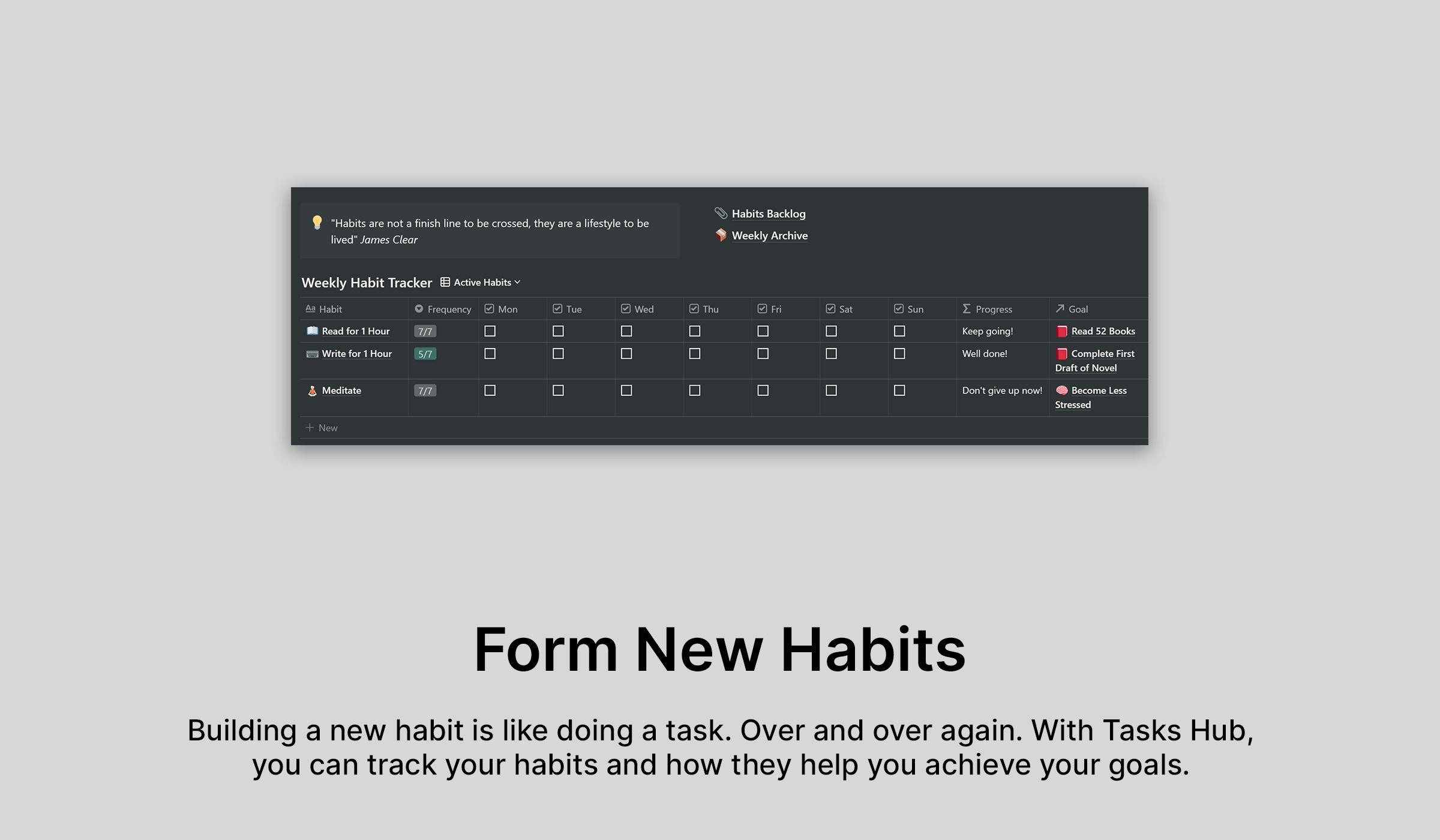 Notionable Tasks Hub
