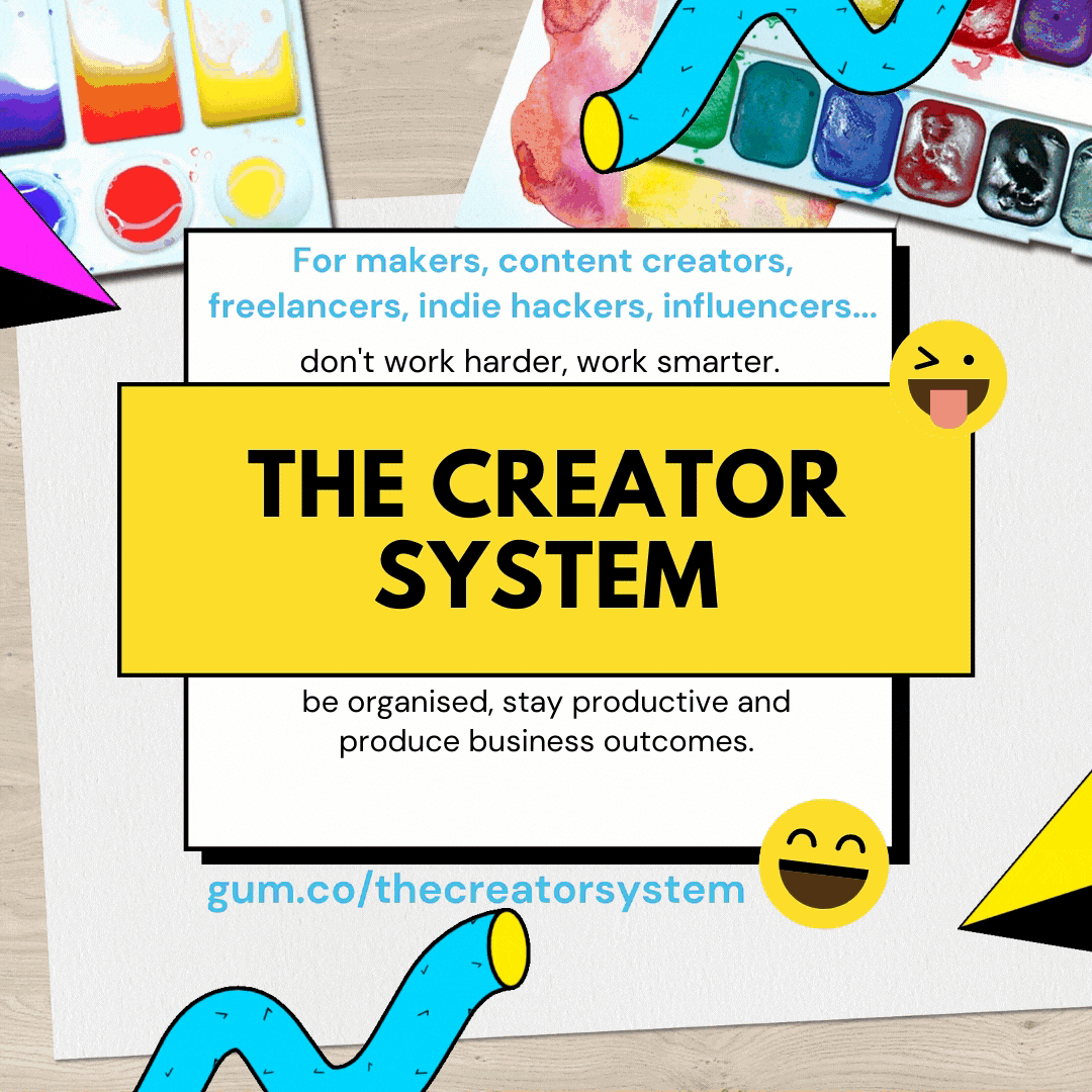 The Creator Productivity System