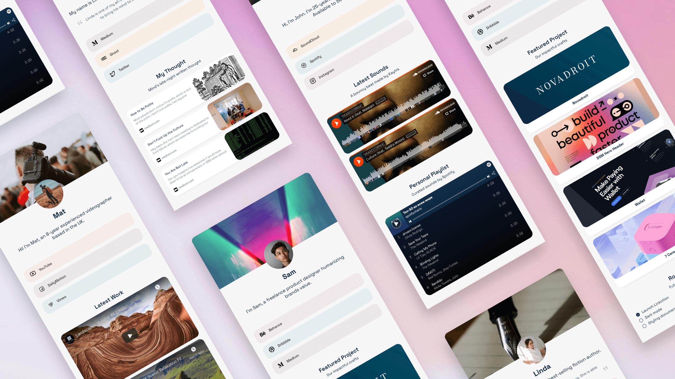 Linkotion — Notion-based Linktree alternative