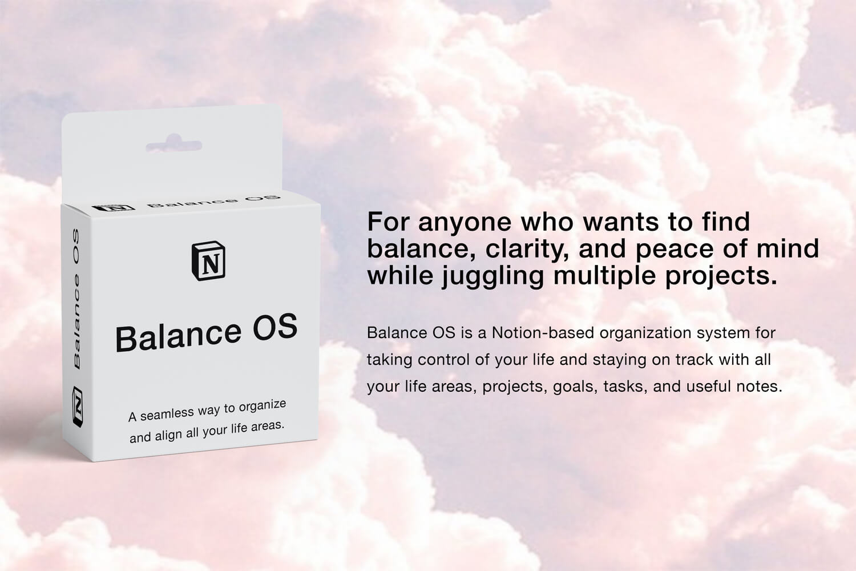 Balance OS | GTD, PARA & Goal Setting