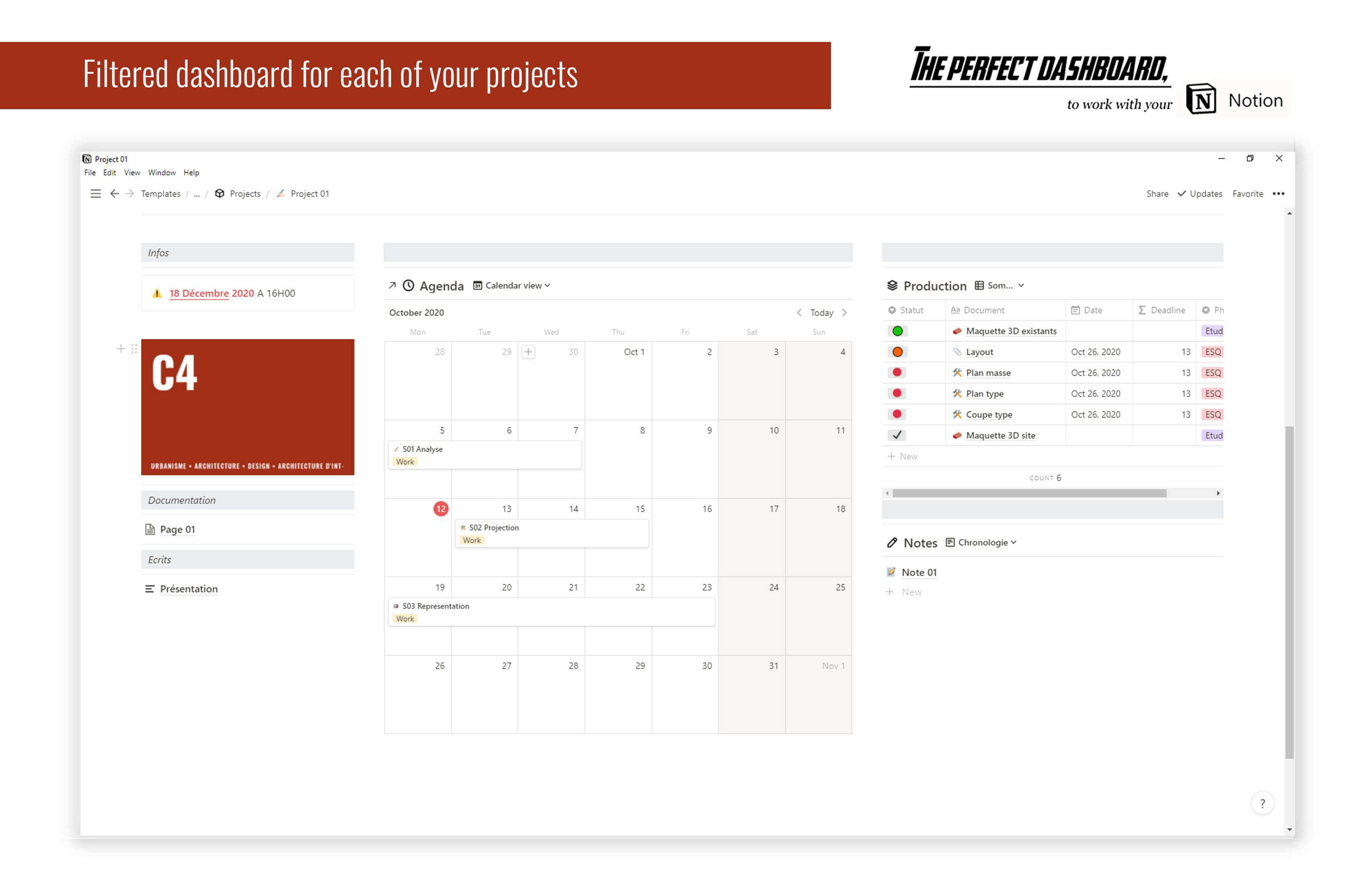 The perfect Notion Dashboard