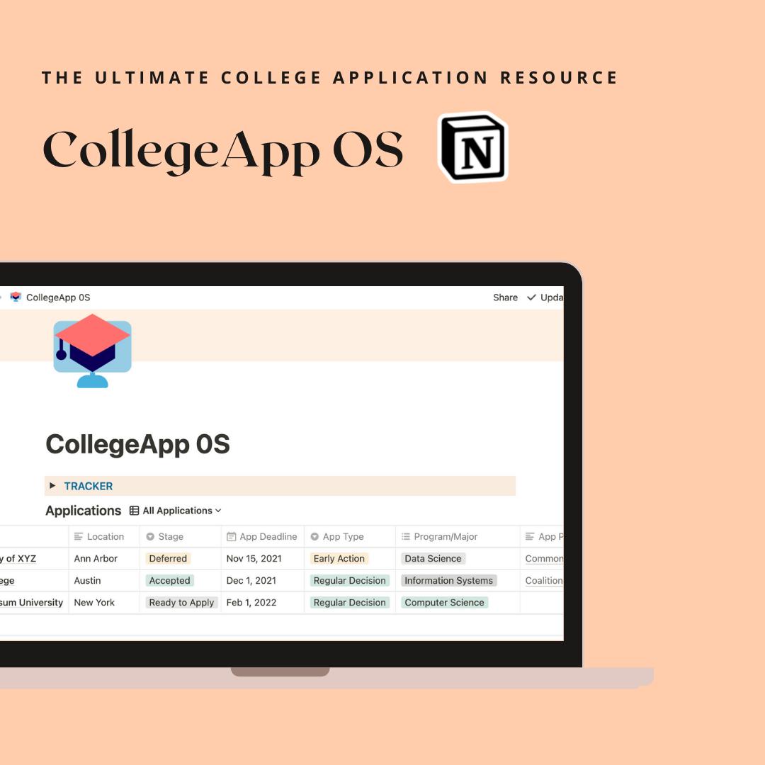 Sistema operativo CollegeApp